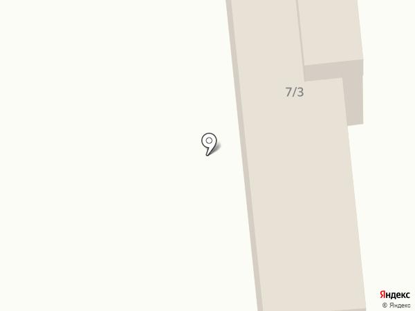 Военторг на карте Миасса