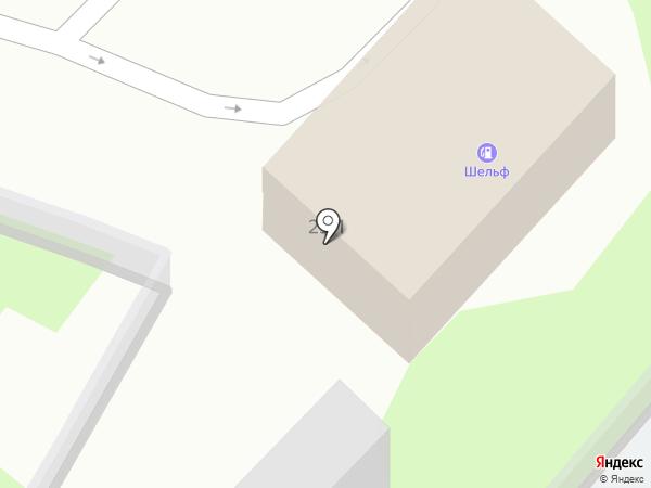 АГЗС Шельф на карте Миасса