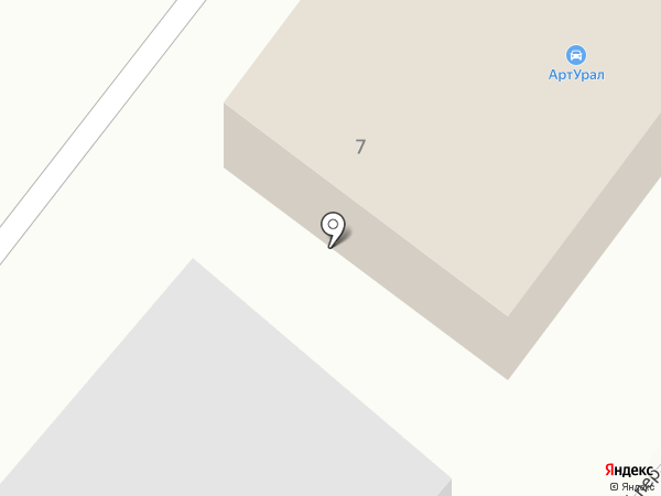 ТЭН за час на карте Миасса