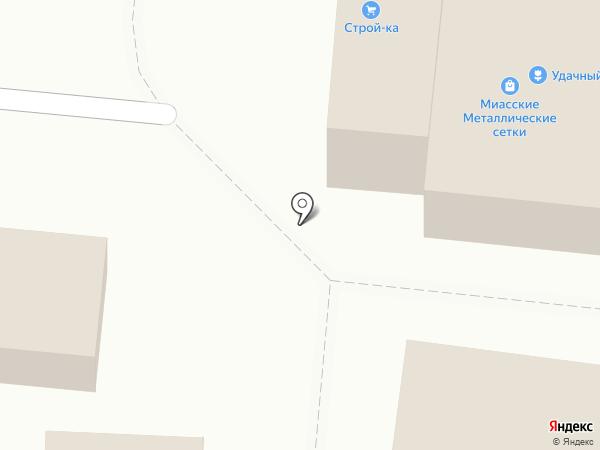 Миасские металлические сетки на карте Миасса