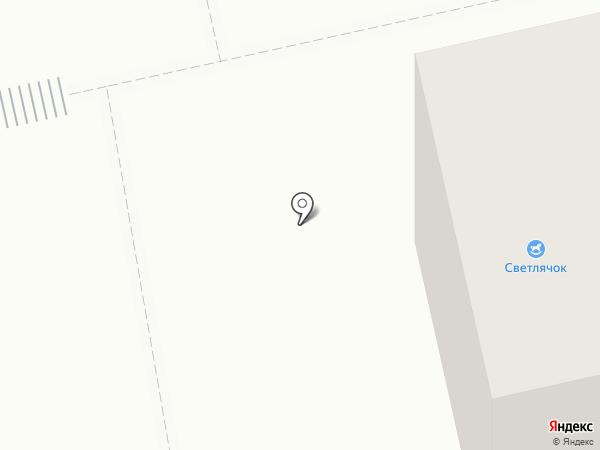 Светлячок на карте Нижнего Тагила