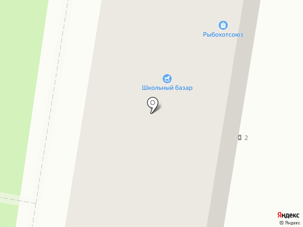 Березка на карте Миасса