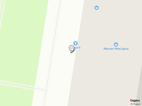 Ириска на карте Миасса