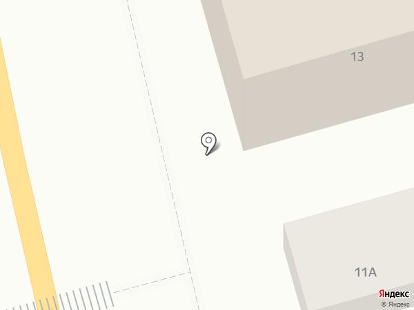 Почтовое отделение №23 на карте Миасса