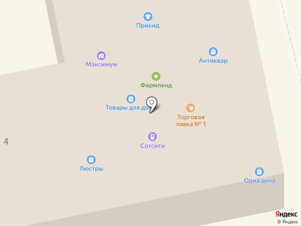 Универсальный магазин на карте Миасса