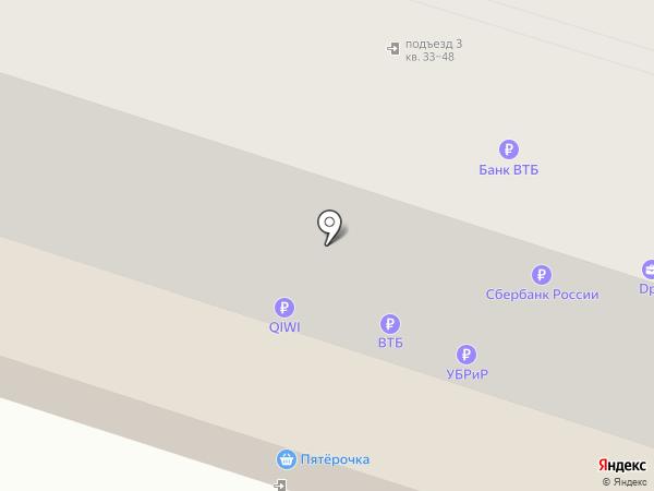 Пятёрочка на карте Нижнего Тагила