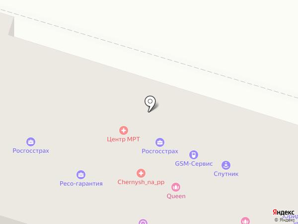 Массажный кабинет на карте Нижнего Тагила