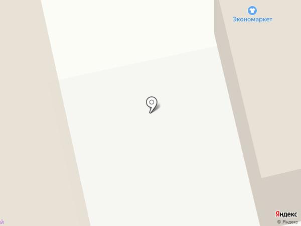 Русалочка на карте Миасса