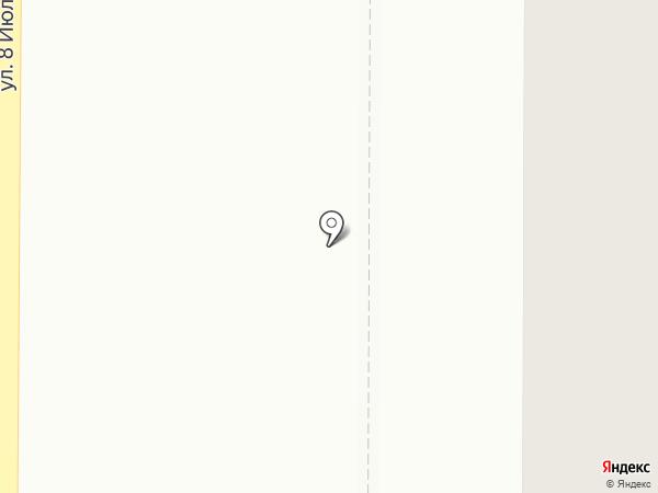 Магнетон на карте Миасса
