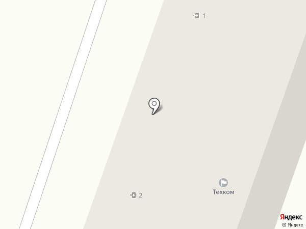 Техком на карте Миасса