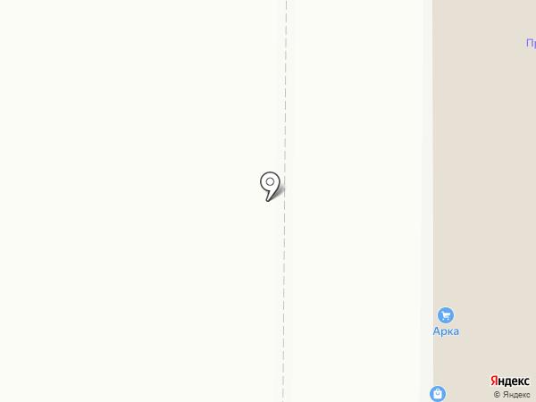 ИВАРУС на карте Миасса