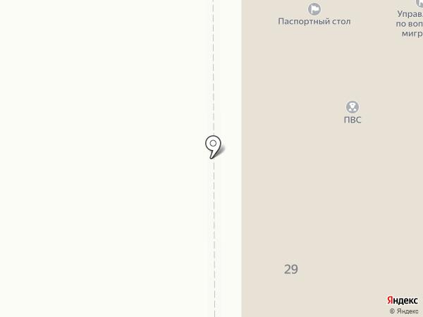 Группа лицензионно-разрешительной работы на карте Миасса