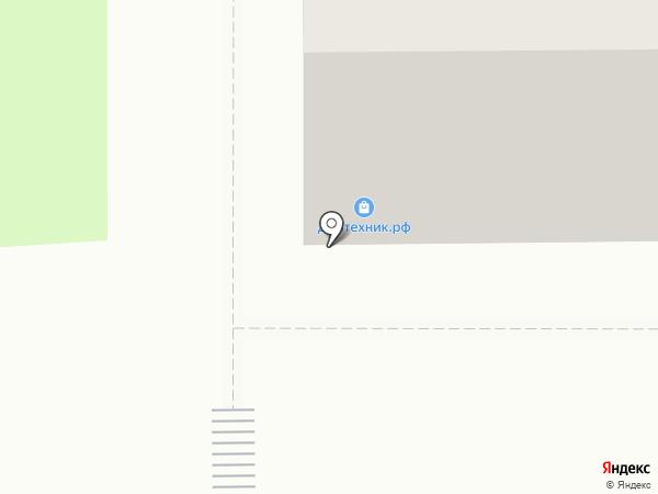 ДАЙТЕХНИК на карте Миасса