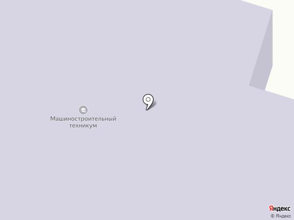 Нижнетагильский машиностроительный техникум на карте Нижнего Тагила
