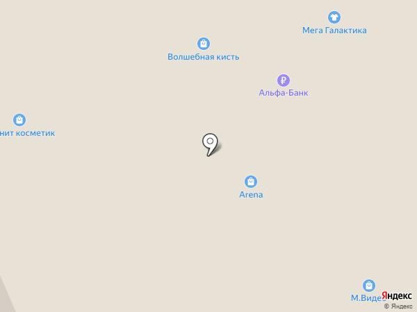 Табакофф на карте Миасса