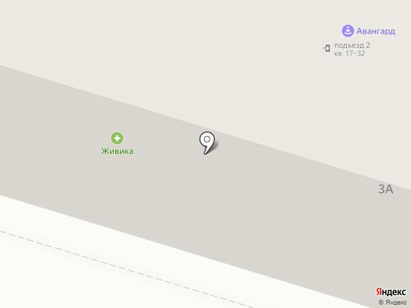 Бастион на карте Нижнего Тагила