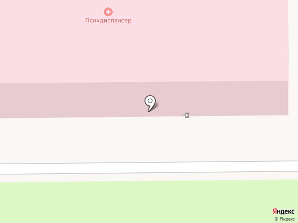 Областной психоневрологический диспансер на карте Миасса