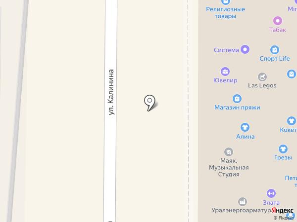 Технопарк Миасс на карте Миасса