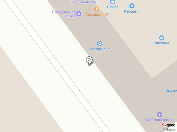 ПЭК на карте Миасса