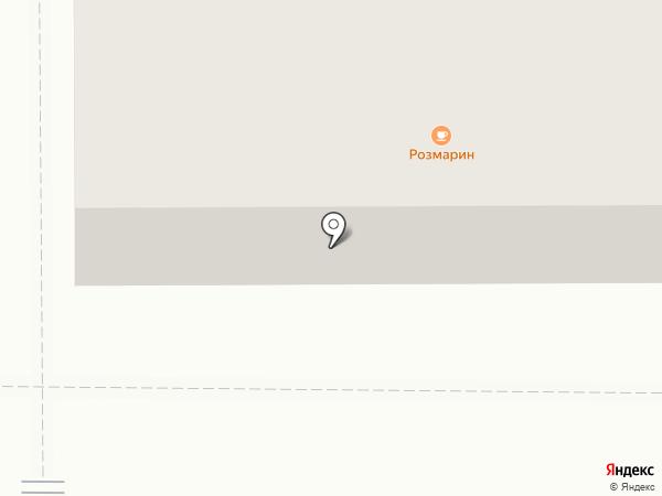 Образ на карте Миасса