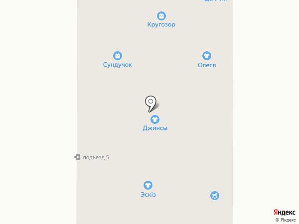 Салон оптики на карте Миасса