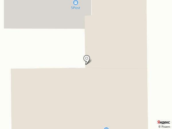 Гардероб на карте Миасса
