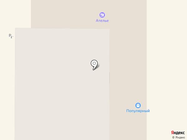 Магазин нижнего белья на карте Миасса