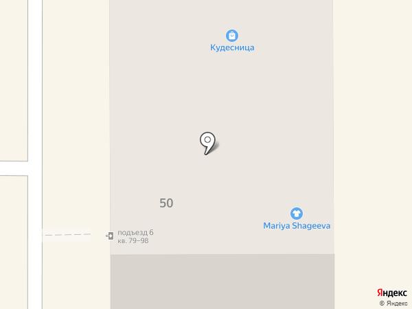 Багетный дворъ на карте Миасса
