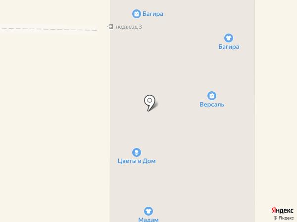 Джулия на карте Миасса
