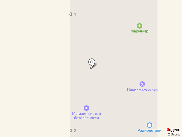 Артель Амур Окно на карте Миасса