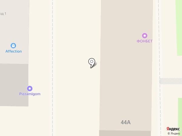 Фонбет на карте Миасса