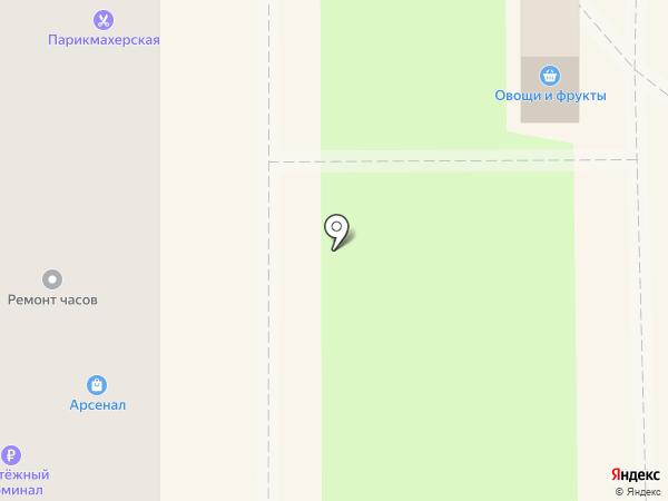 Апрель на карте Миасса