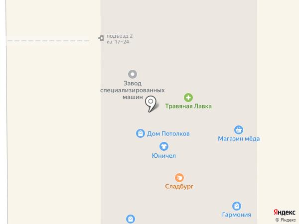 Мир меда на карте Миасса