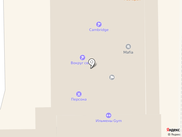 Людмила на карте Миасса