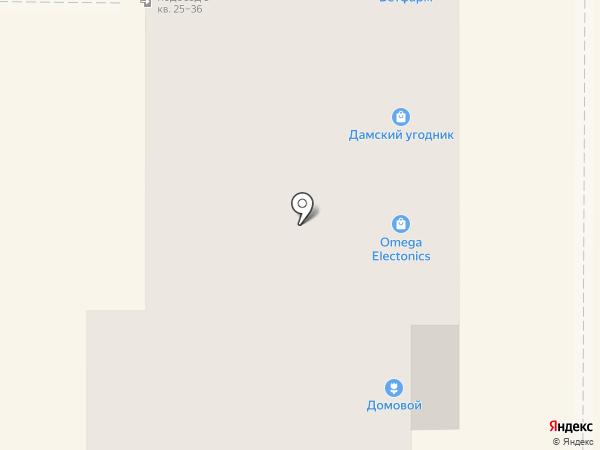 Дамский угодник на карте Миасса