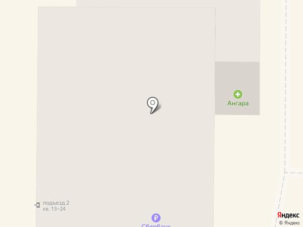 Ангара на карте Миасса