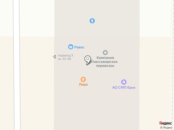 Бинбанк, ПАО на карте Миасса
