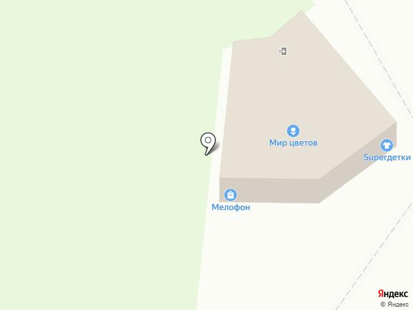 Мелофон на карте Миасса
