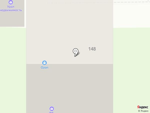 Diamond на карте Миасса