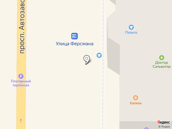 Ампер на карте Миасса