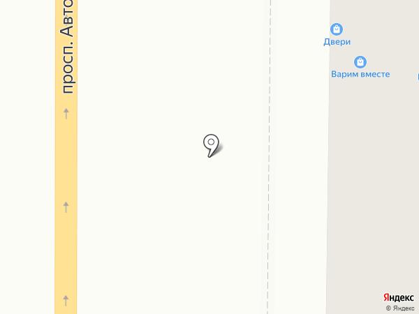 Гастроном №1 на карте Миасса