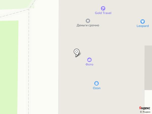 Leopard на карте Миасса