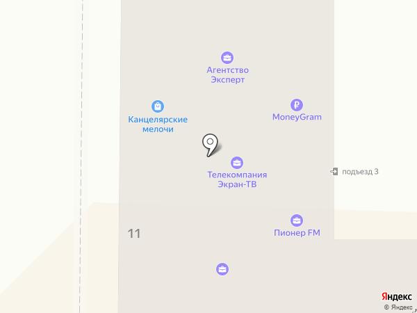 Юджипи систем на карте Миасса