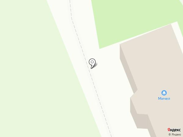 Мичел на карте Миасса