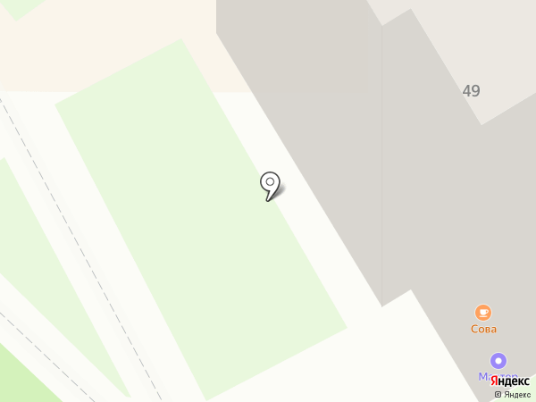 Мастер на карте Миасса