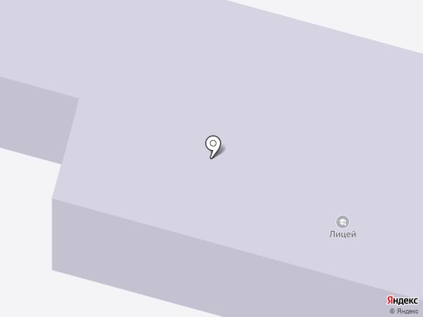 Лицей на карте Нижнего Тагила