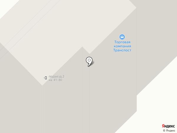 ТРАНСПОСТ на карте Миасса