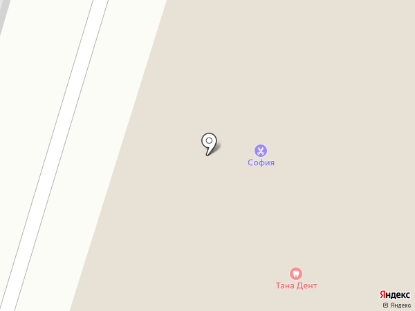 Ателье по пошиву и ремонту одежды на карте Нижнего Тагила