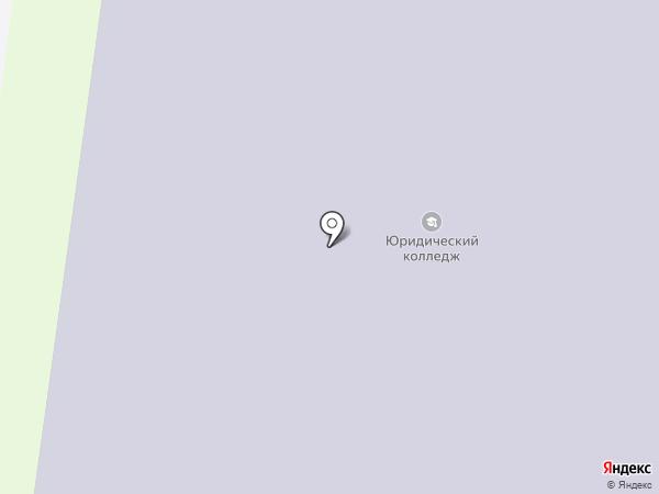 Челябинский юридический колледж на карте Миасса