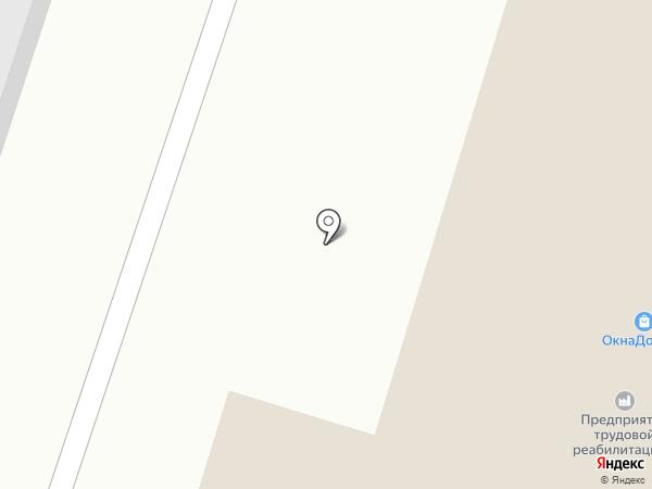 Отражение на карте Нижнего Тагила